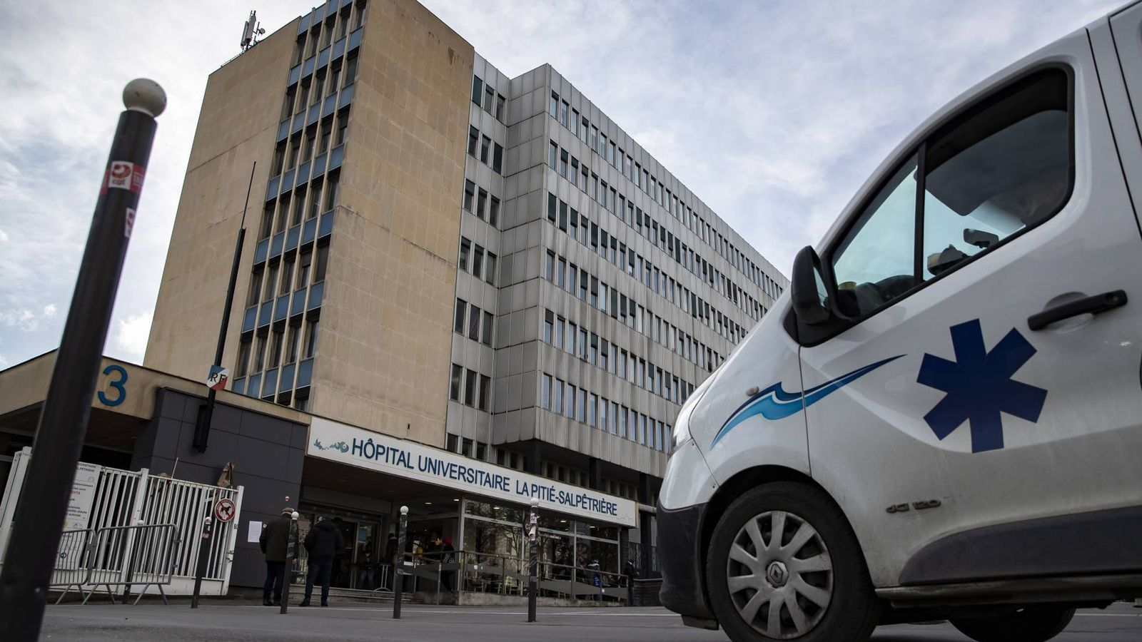 L'hospital universitari La Pitié, a París / EFE