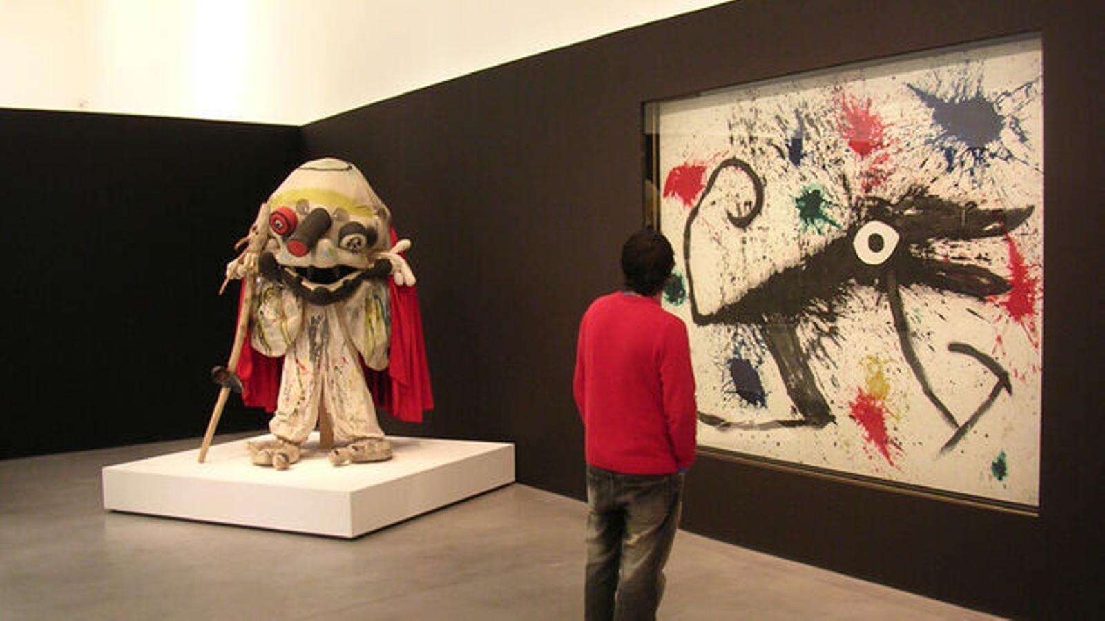 Imatge de l'exposició 'Joan Miró i el món d'Ubú', a Es Baluard, l'any 2006. / ES BALUARD