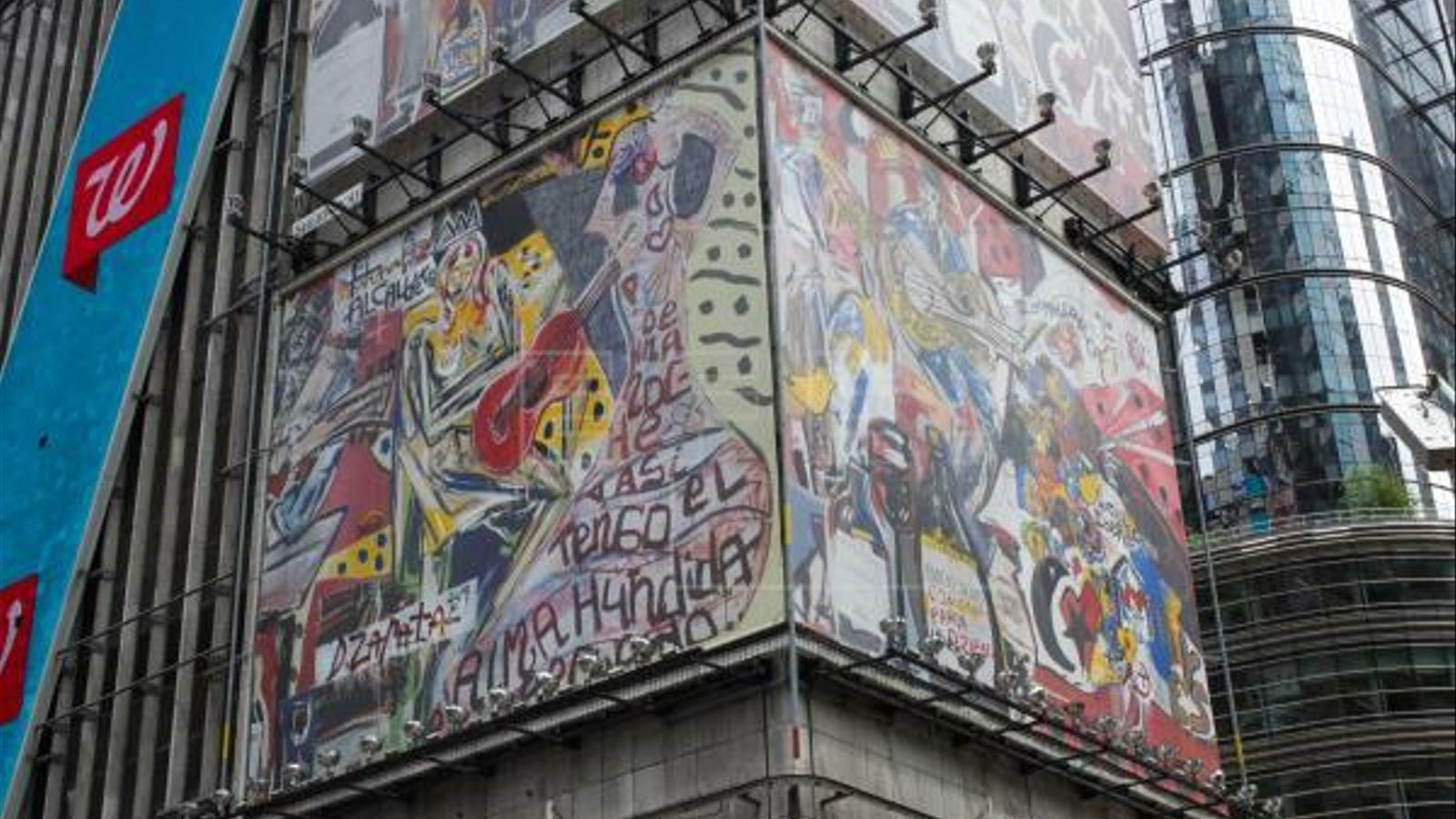 Una part del mural