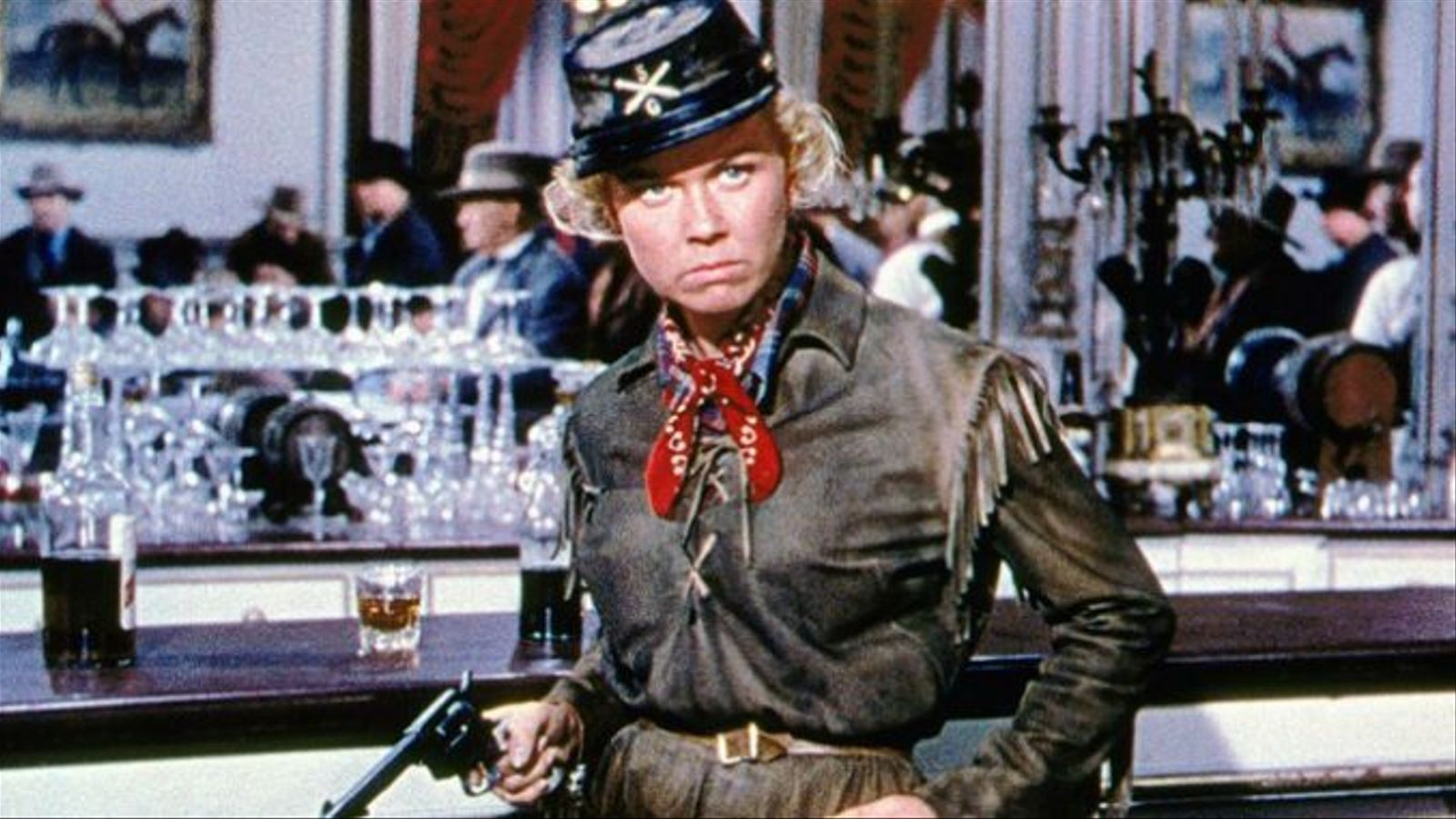 L'actriu va interpretar una aventurera de l'Oest a 'Calamity Jane' (1953)