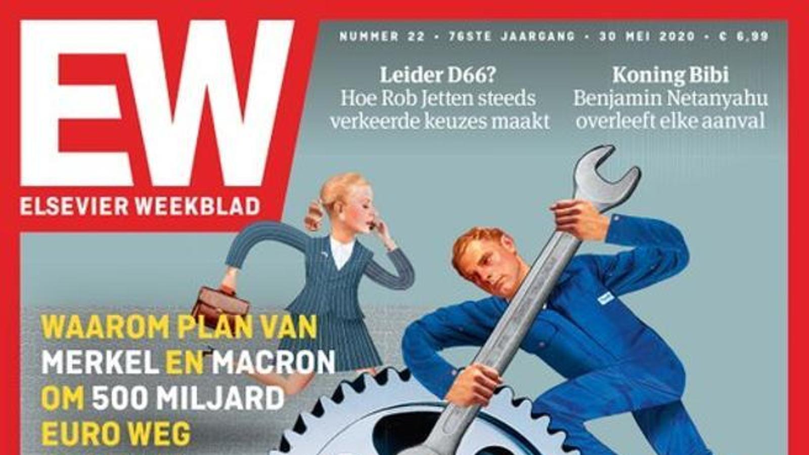 La portada del setmanari 'Elsevier Weekblad'