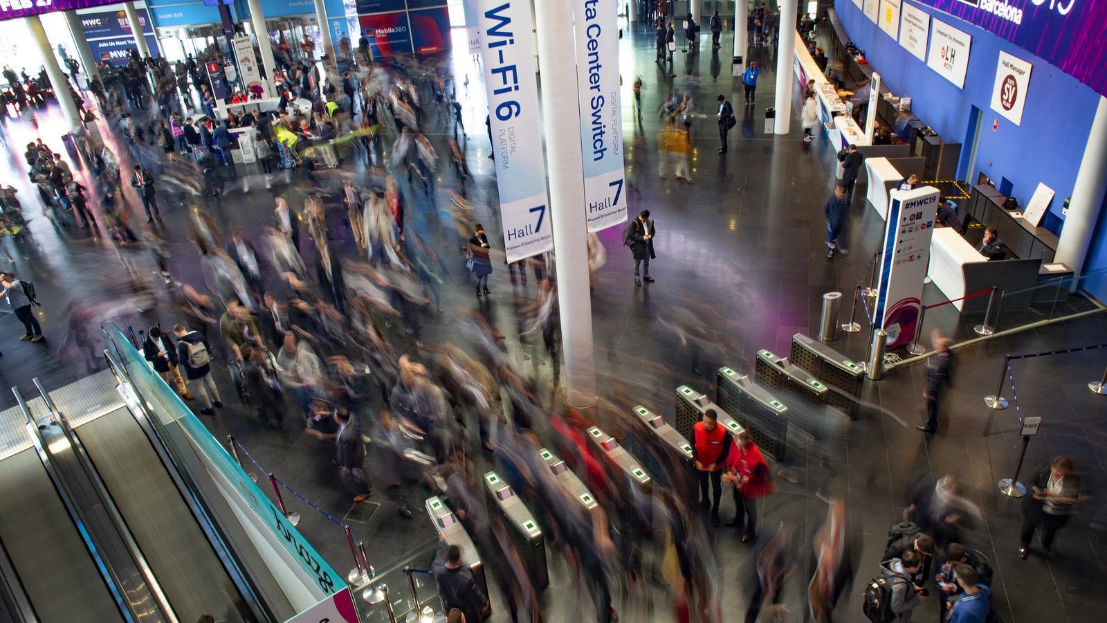 Imatge d'arxiu del Mobile World Congress de Barcelona del 2019