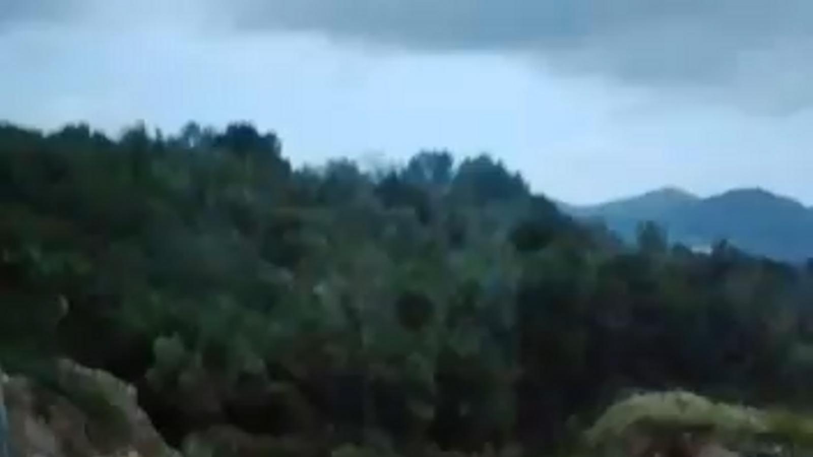 Vídeo de les conseqüències de la tempesta