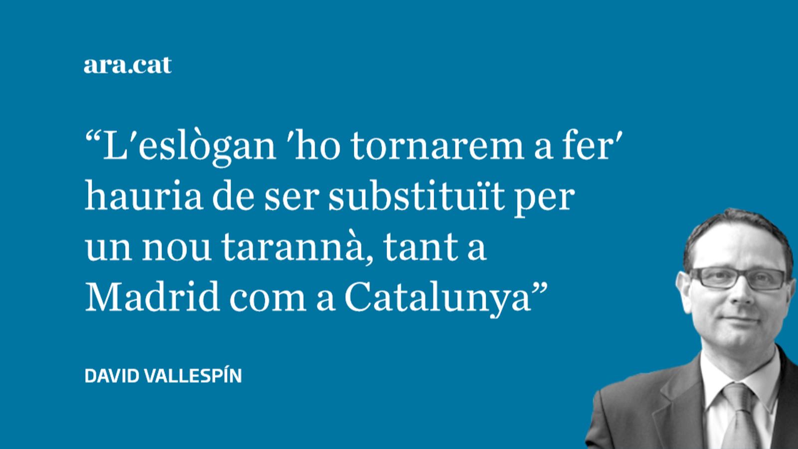 El camí cap a la solució de la qüestió catalana