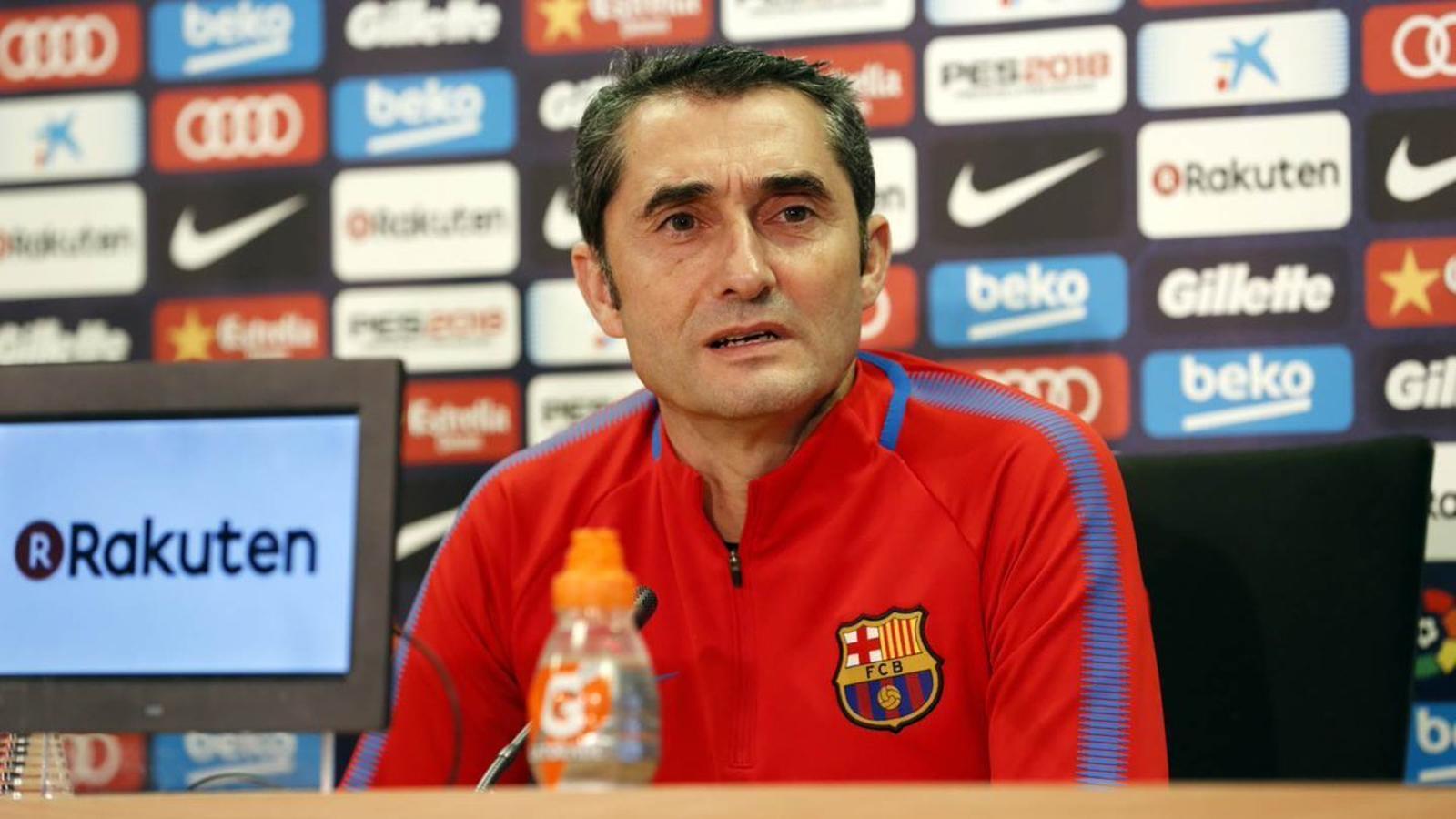 """Valverde: """"Dembélé està preparat, per això està entrant a les convocatòries"""""""
