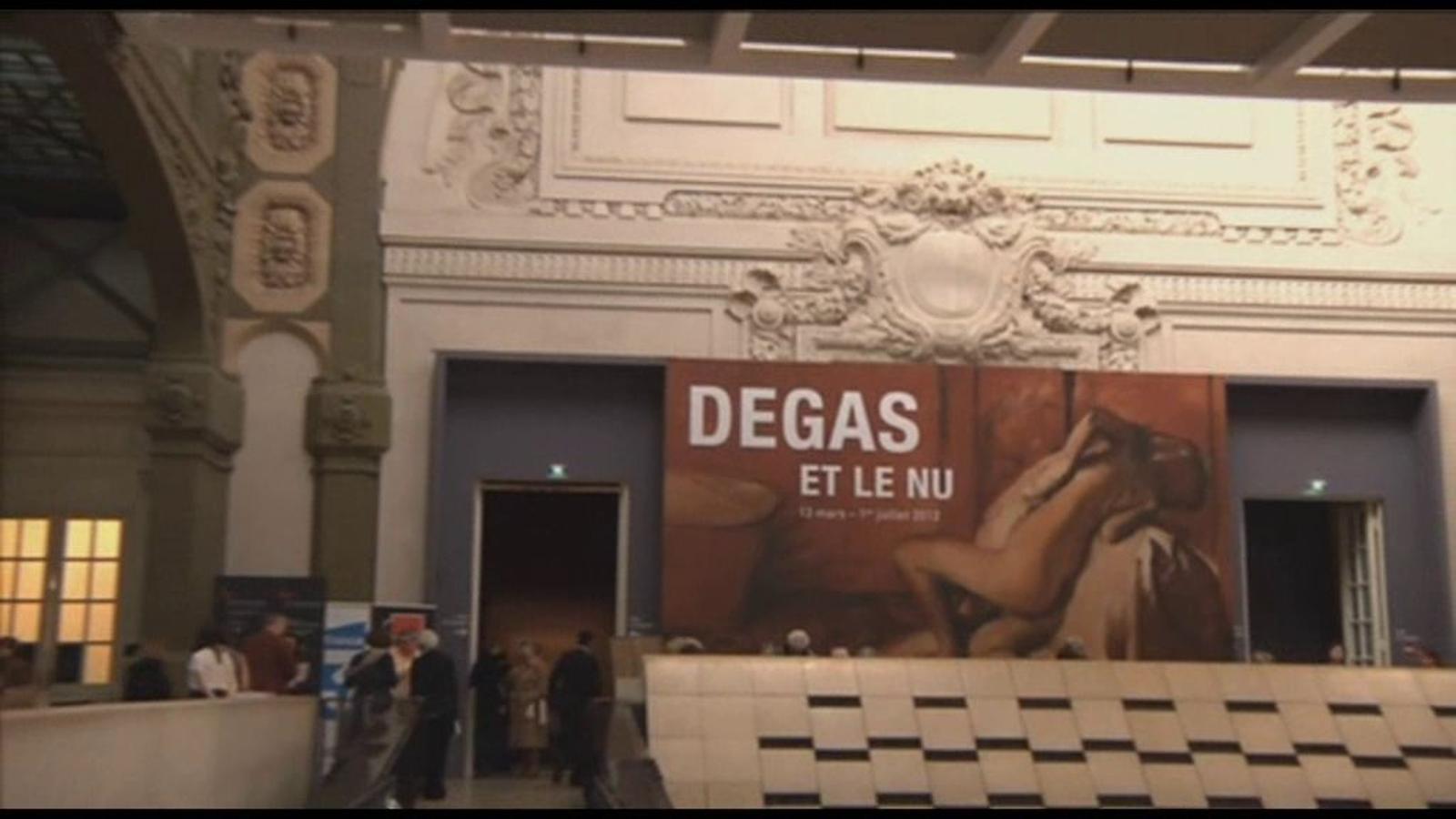 Els nus de Degas, en una exposició a París