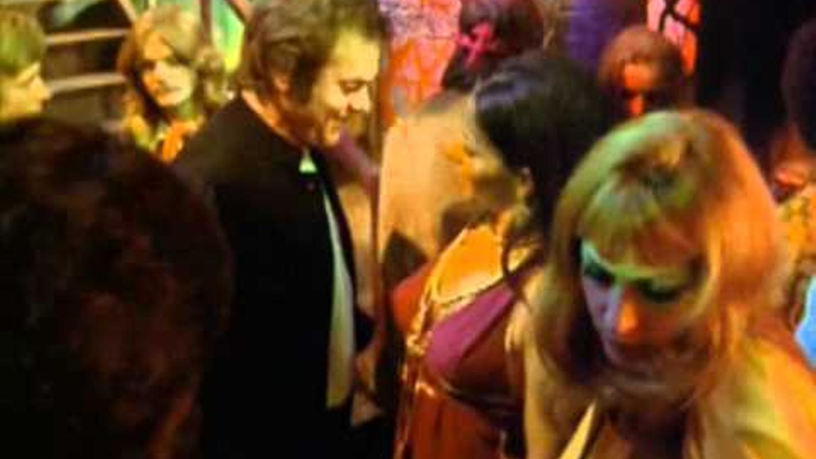 Roger Moore en un capítol de 'The persuaders'