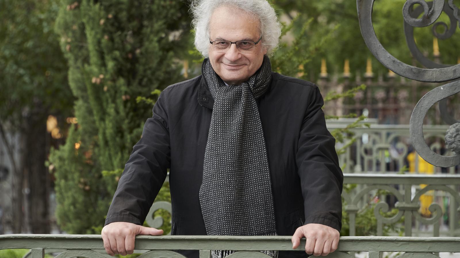 L'escriptor Amin Maalouf a París