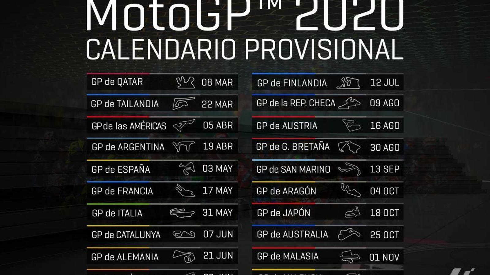 Finlàndia, novetat al calendari del Mundial de MotoGP / MOTOGP