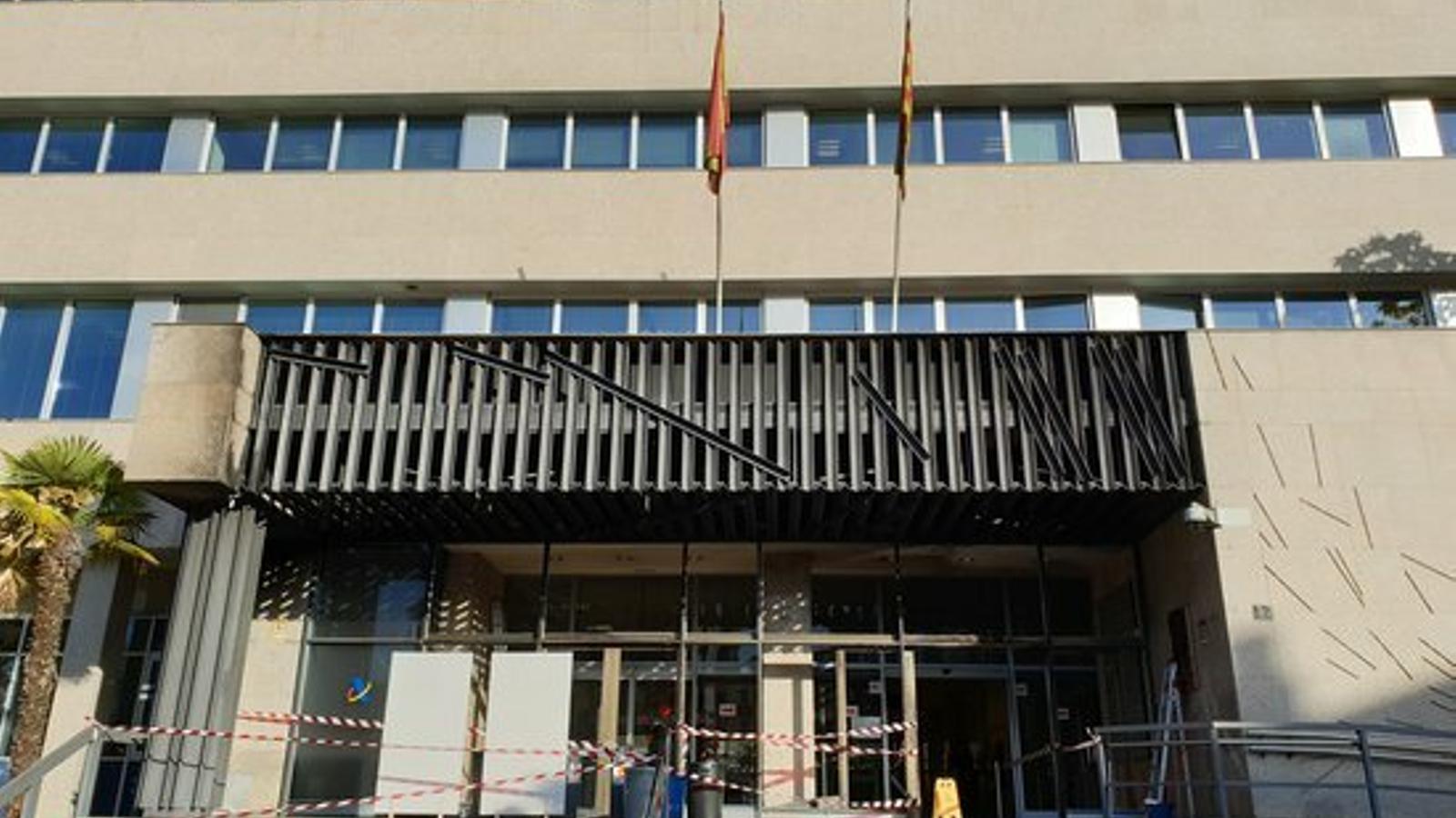 Una jutge prohibeix a sis detinguts pels aldarulls a Lleida acostar-se als punts on es van produir danys