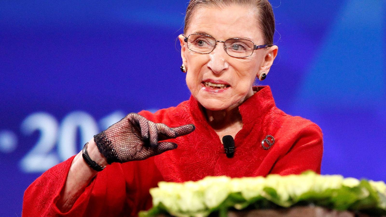 Mor als 87 anys Ruth Bader Ginsburg, icona del feminisme i segona jutgessa del Tribunal Suprem