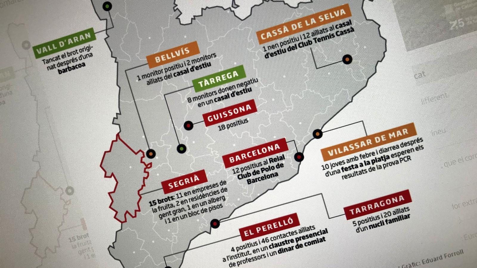 Mapa de rebrots, Sánchez parla de reformar la Constitució pel Rei i, a les 12 h, sorteig de la Champions: les claus del dia, amb Antoni Bassas (10/07/2020)