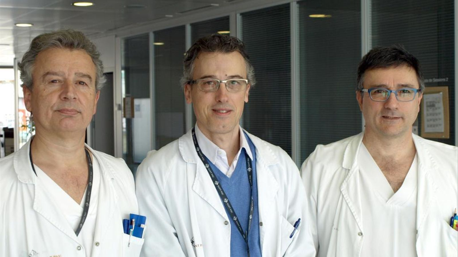 Els impulors de l'associació Activa'tt per la salut: José Román Escudero, Jose Manuel Soria y Joan Carles Souto (d'esquerra a dreta)