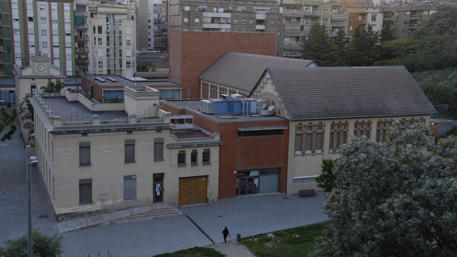 Ántic escorxador on està l'Aula de teatre de Lleida