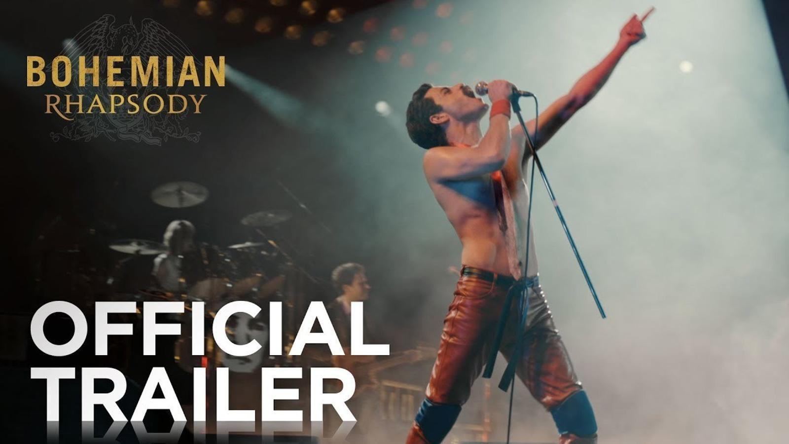 Primer tràiler de la pel·lícula de 'Queen'