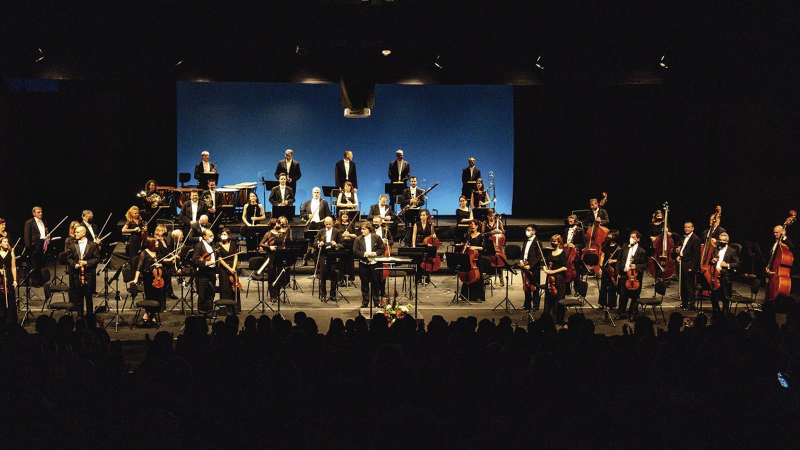 L'Orquestra Simfònica de les Balears, al marge dels autors actuals