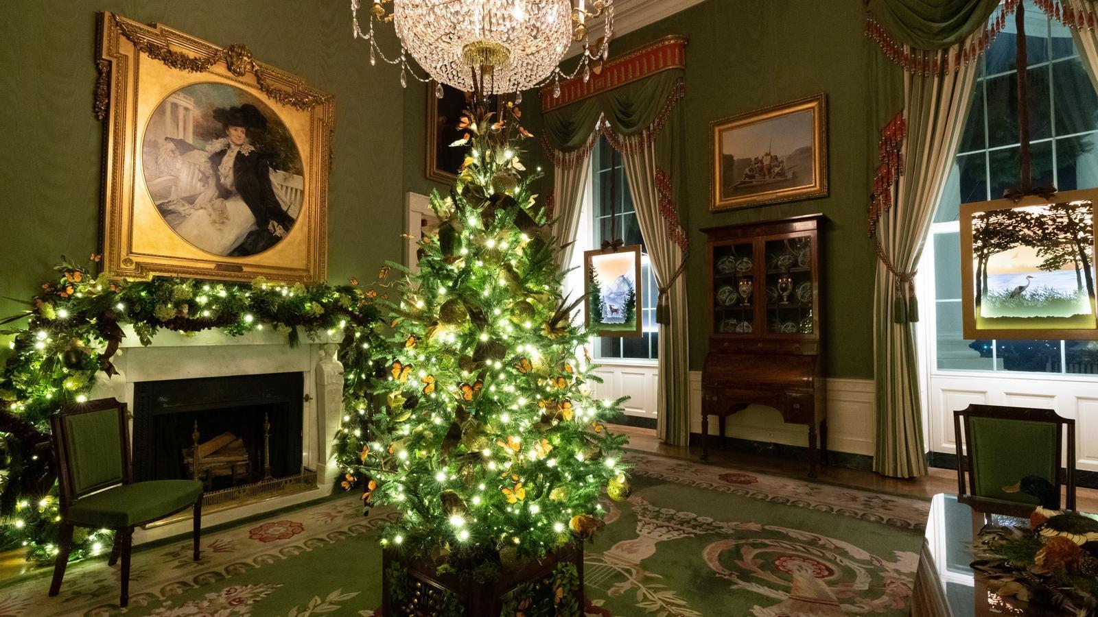 Decoració nadalenca del 2020 a la Casa Blanca