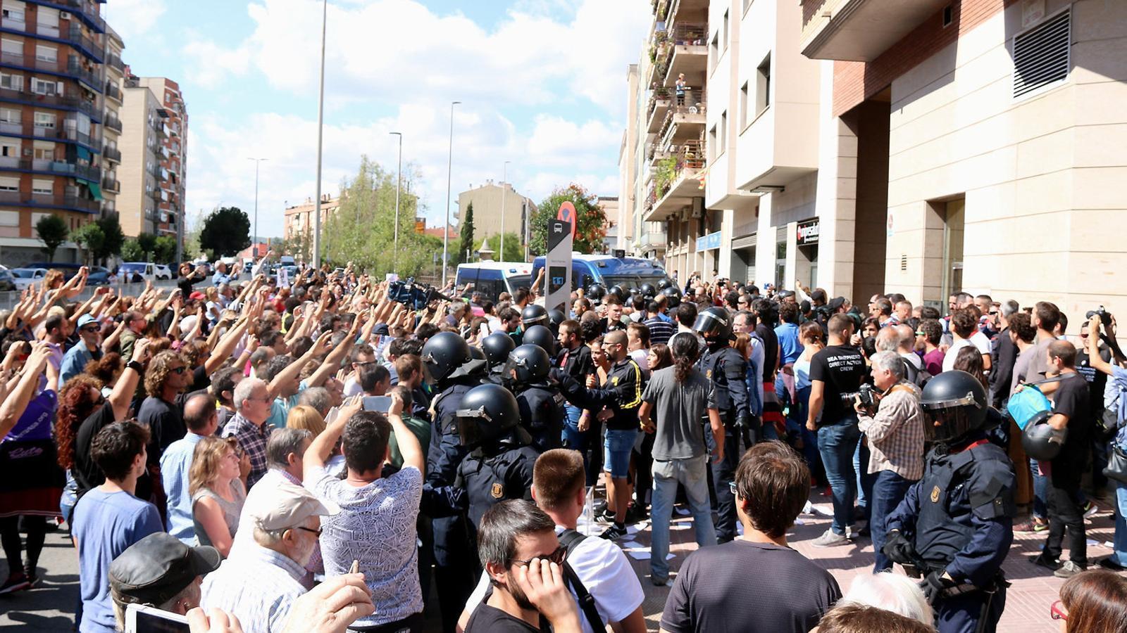 La Guàrdia Civil atribueix el delicte de sedició a la majoria dels detinguts en la macrooperació policial contra l'1-O