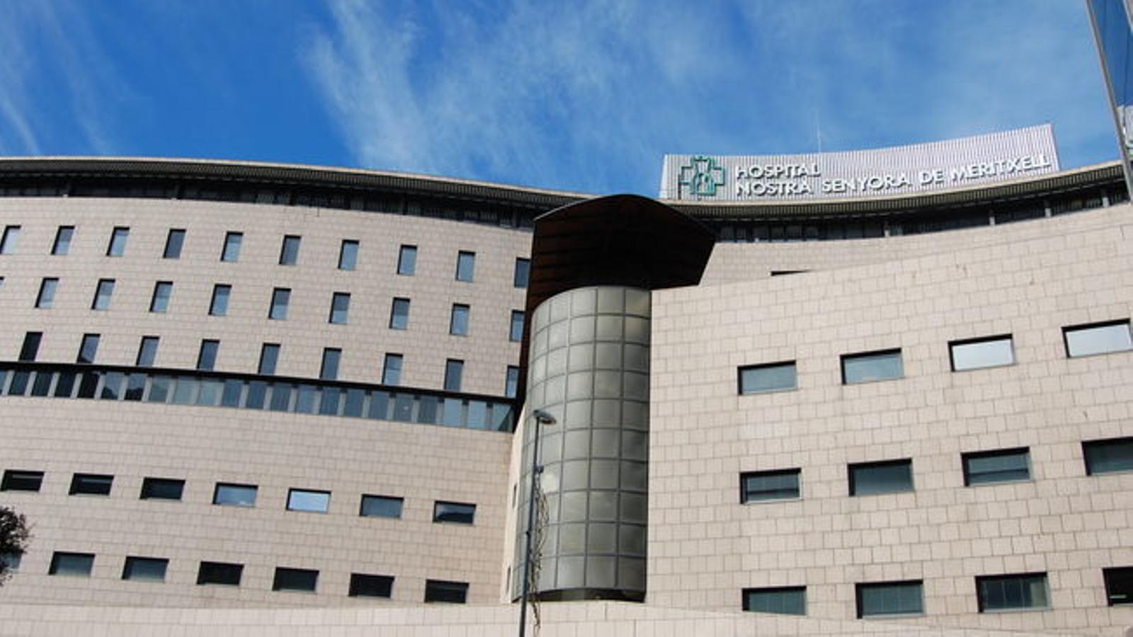 L'hospital Nostra Senyora de Meritxell. / ANA