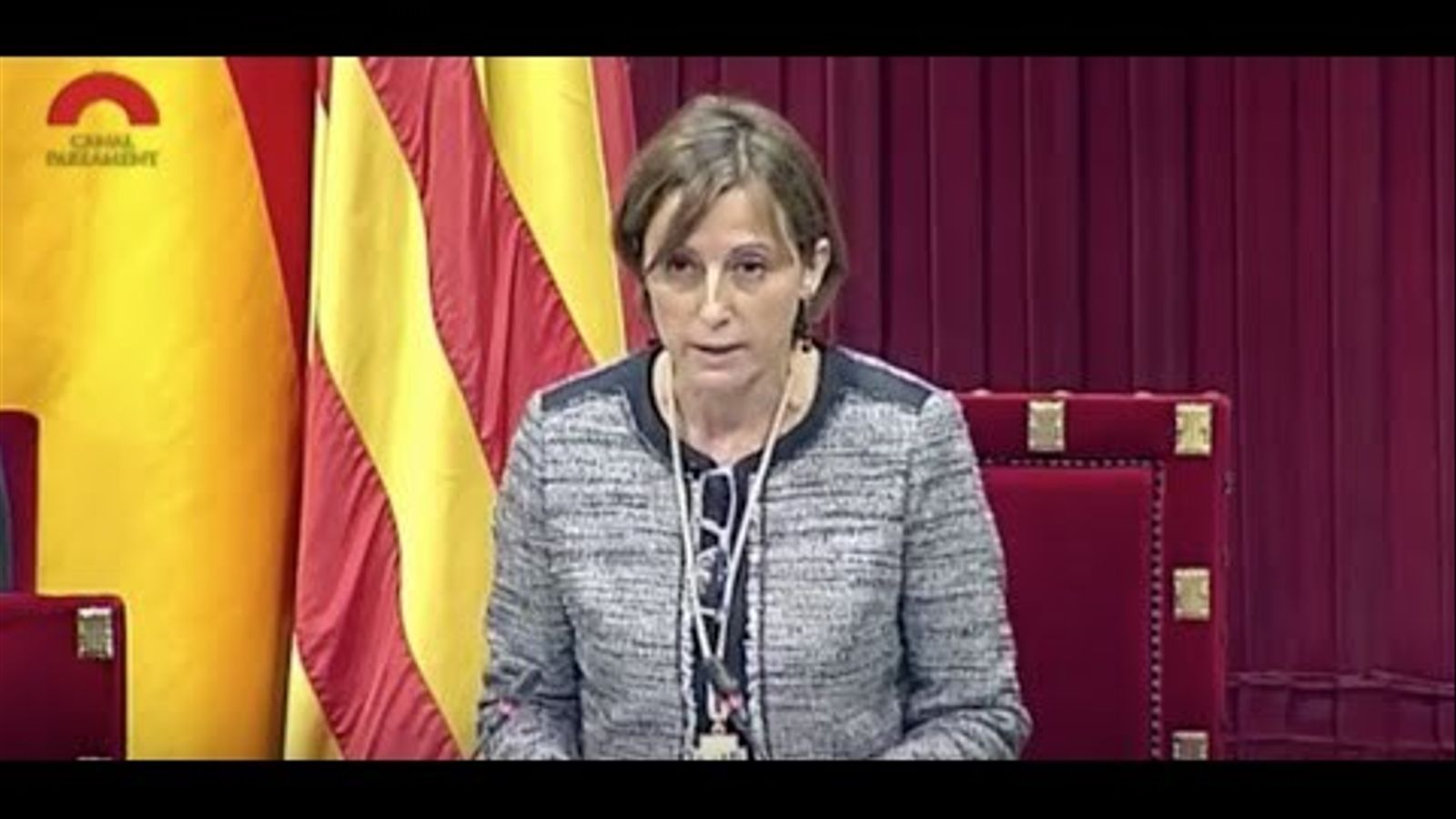 """Carme Forcadell: """"Visca la República Catalana"""""""