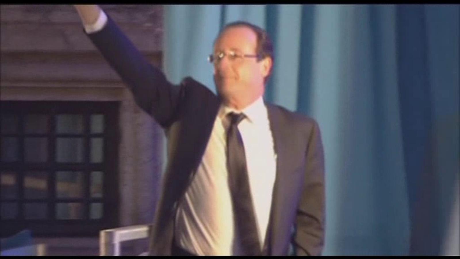 Hollande, nou president de França