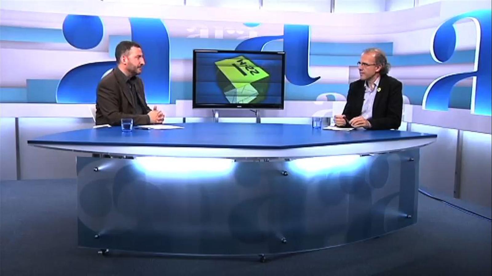 Toni Soler entrevista Ricard Gomà