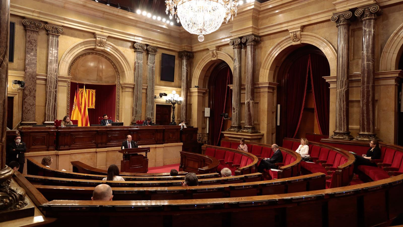 El Parlament també crea una comissió d'estudi per a la reconstrucció
