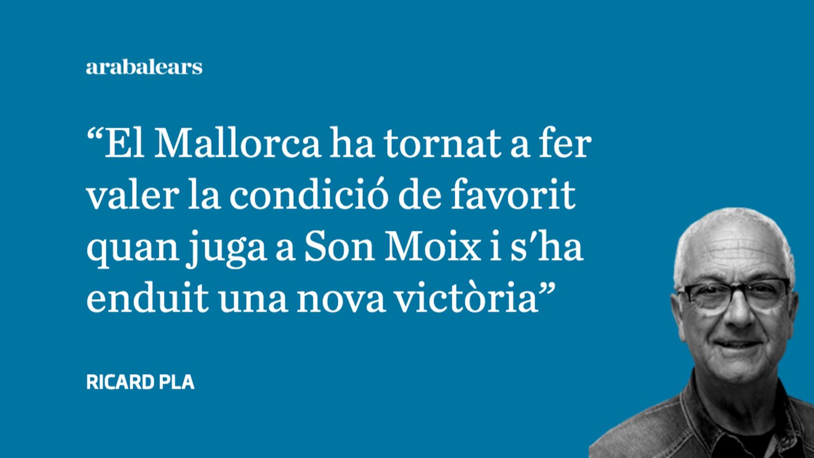 El Mallorca sentencia a la primera part
