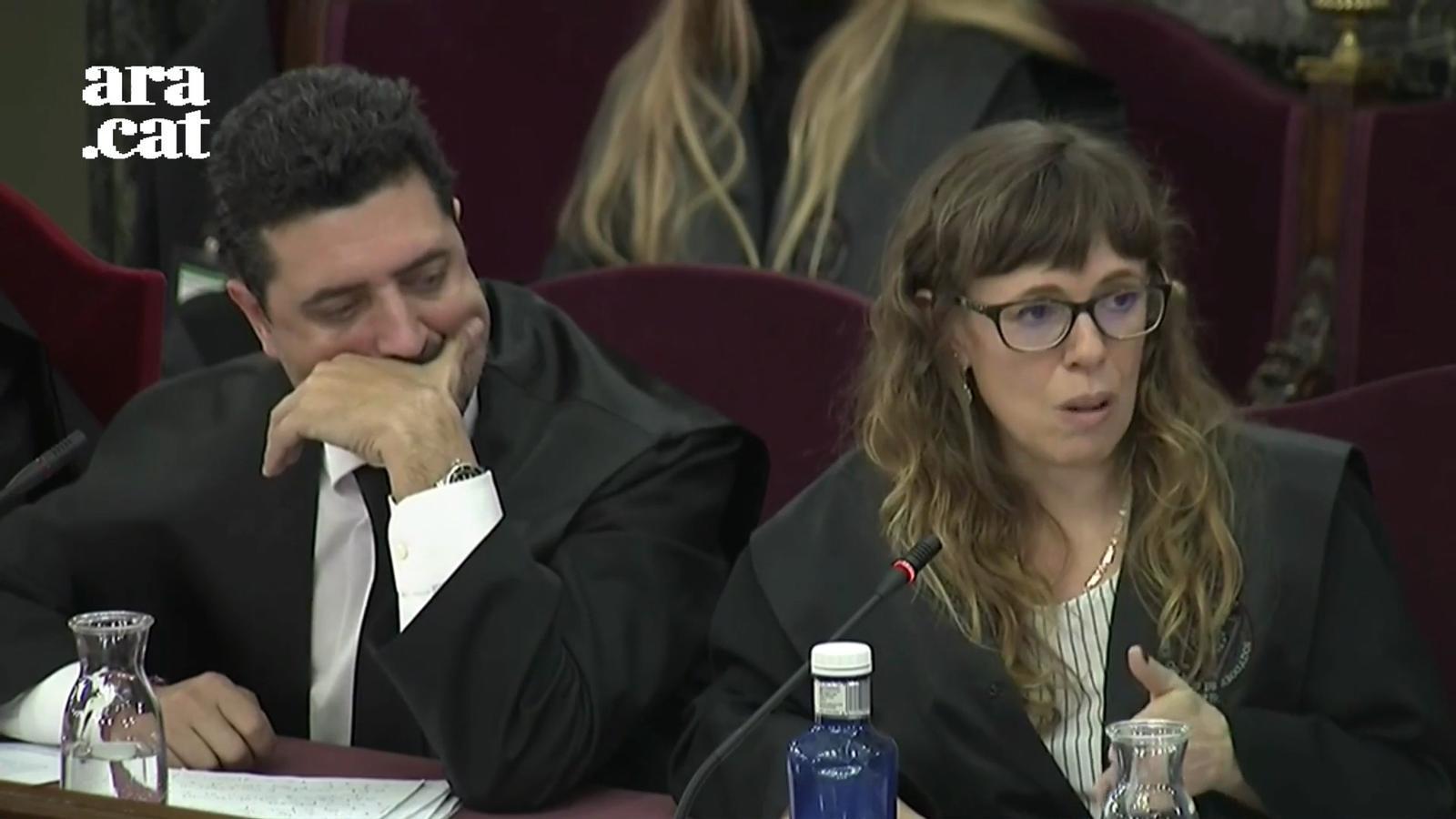 """Arderiu, defensa de Forcadell: """"Els fets que se'ns imputen són funcions de naturalesa parlamentària"""""""