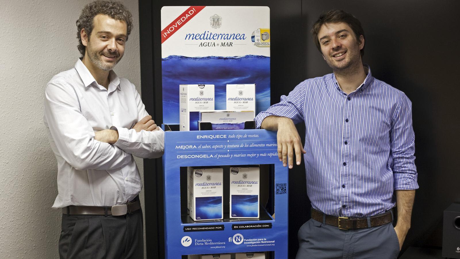 Els dos fundadors de Mediterránea / MANOLO GARCÍA