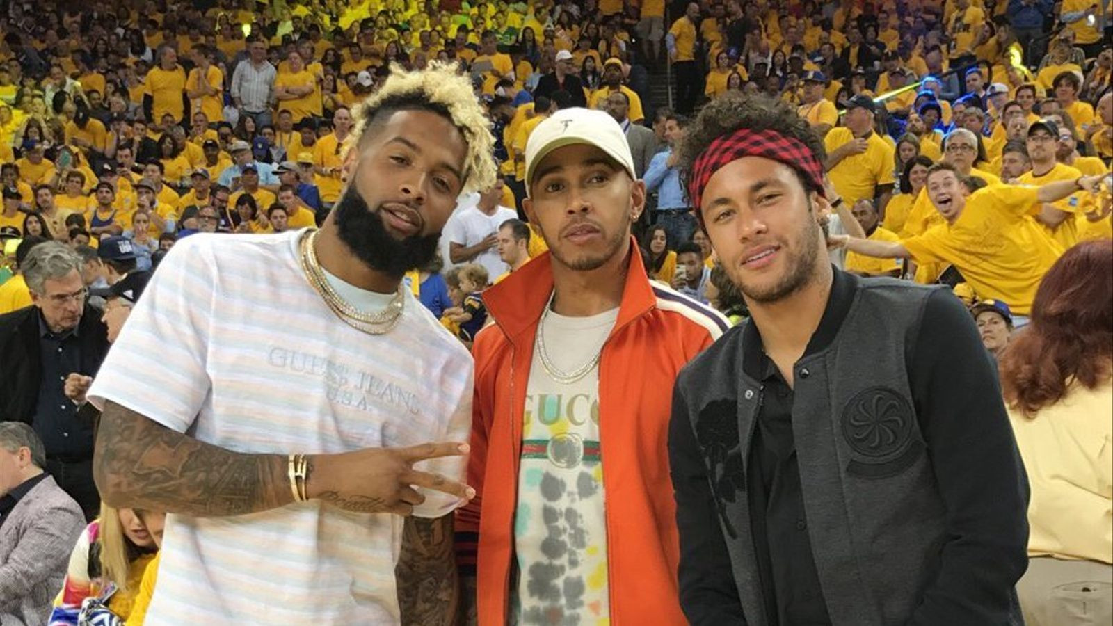 ¿Cuánto mide Lewis Hamilton? - Estatura y peso - Real height Odell-Beckham-Lewis-Hamilton-Neymar_1808829180_41318618_1000x1309