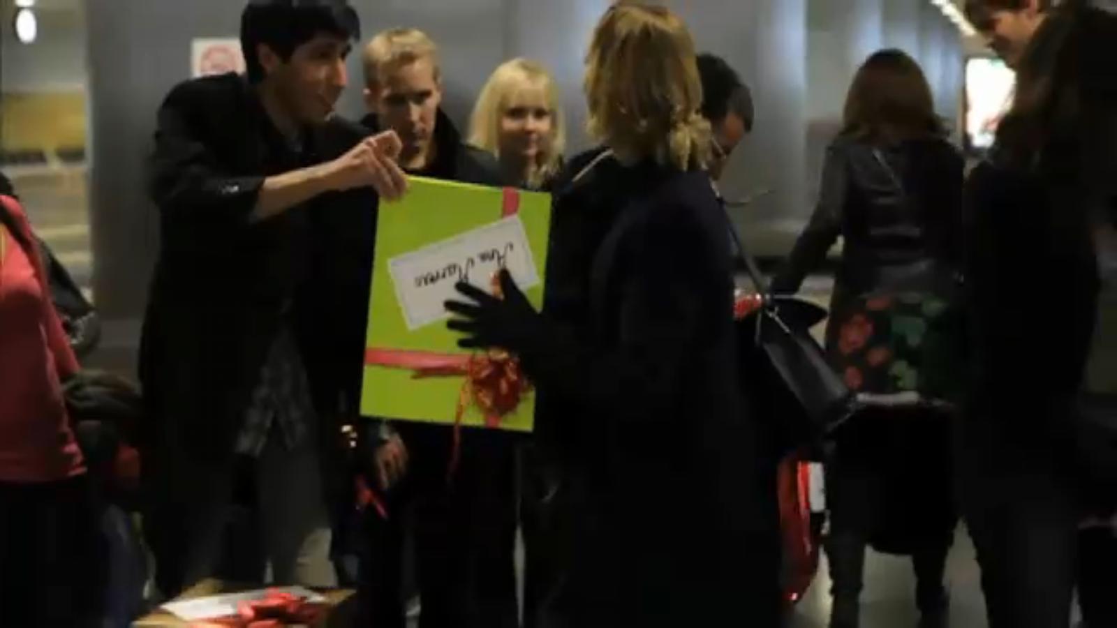 Un equipatge inesperat per al vol de la nit de Nadal