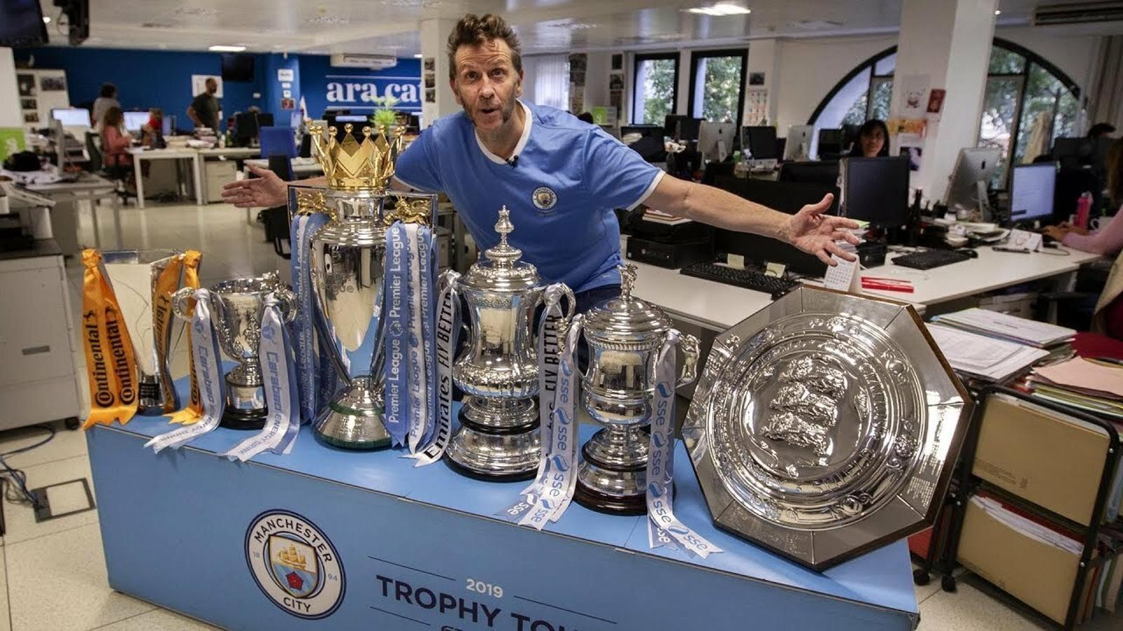 """Mark Aspinall: """"Guardiola ha portat el Manchester City a un altre nivell"""""""