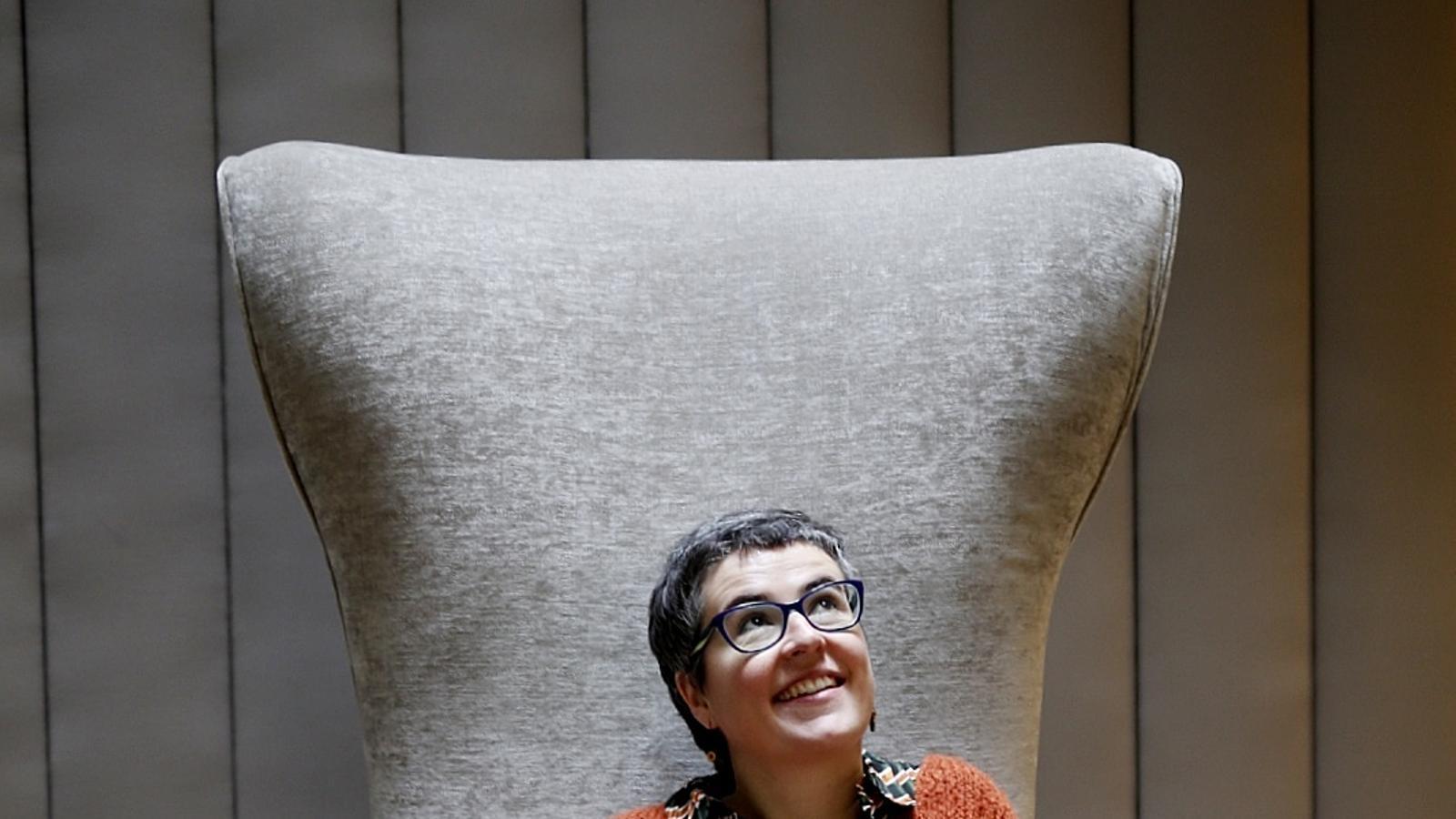 L'escriptora Anna Ballbona és la guanyadora de l'últim Premi Llibres Anagrama