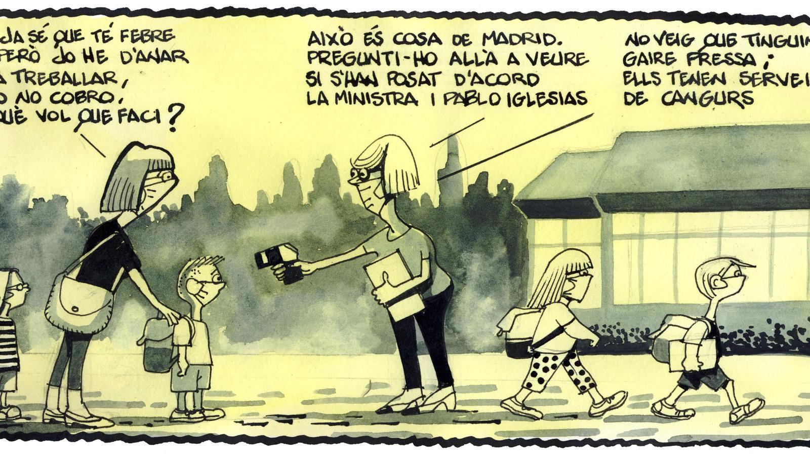 'A la contra', per Ferreres 15/09/2020