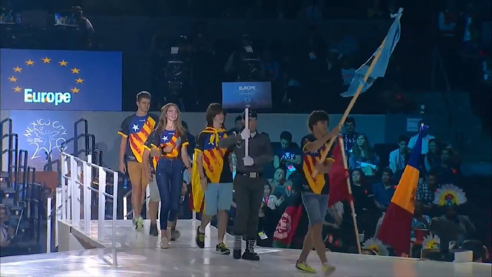 L'equip català que representa Europa al mundial de robòtica que se celebra a Mèxic