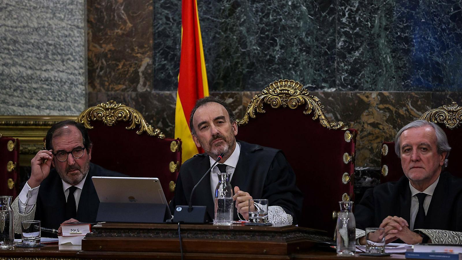 Manuel Marchena, president de la Sala Segona del Penal del Tribunal Suprem, en una imatge d'arxiu. / GETTY