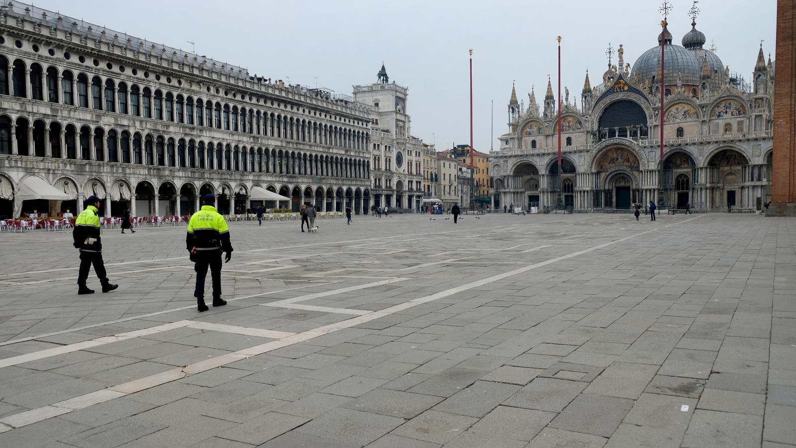 Plaça de Sant Marc a Venecia, Itàlia