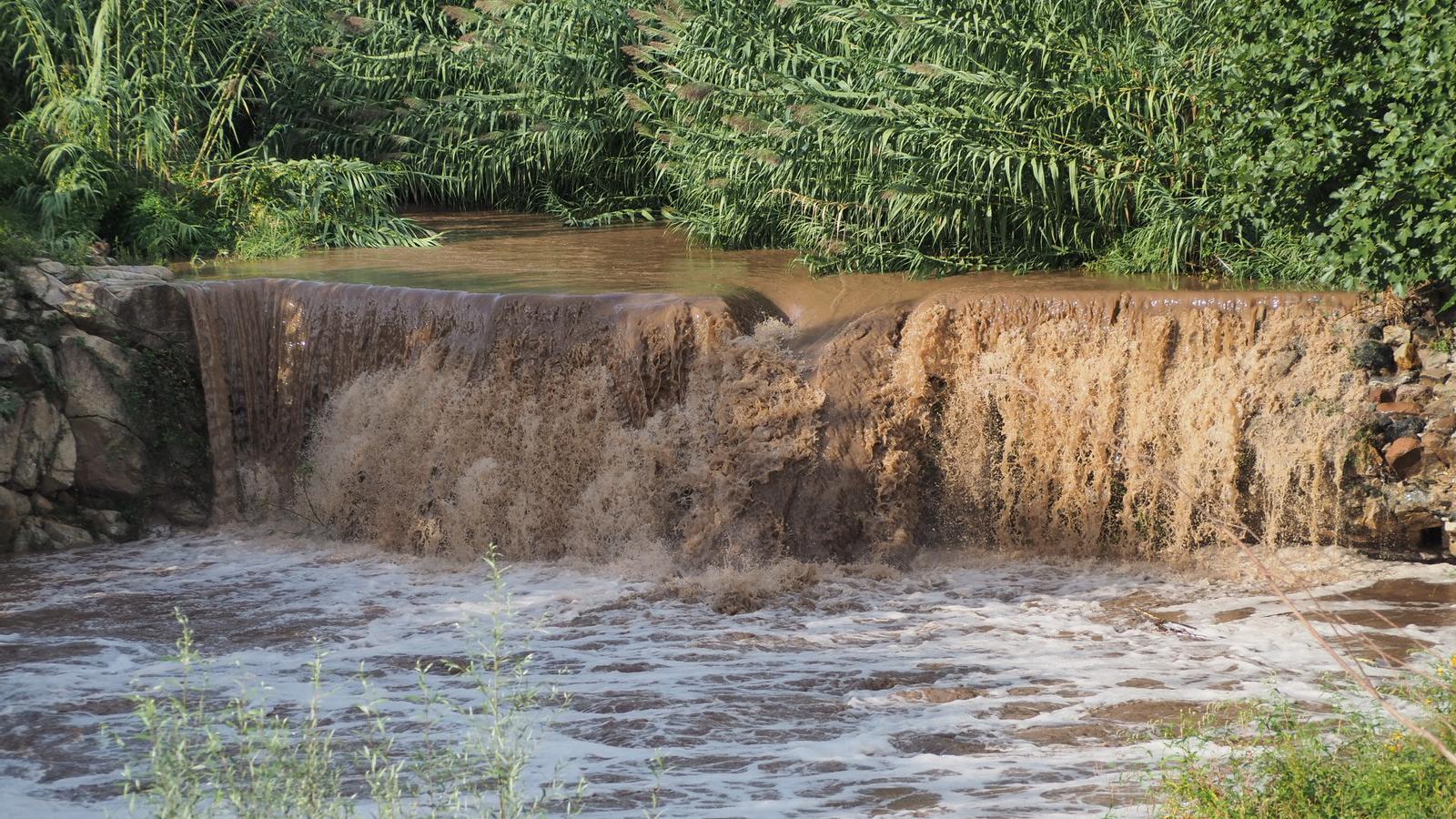 Les pluges d'ahir han fet revifar alguns rius i rieres