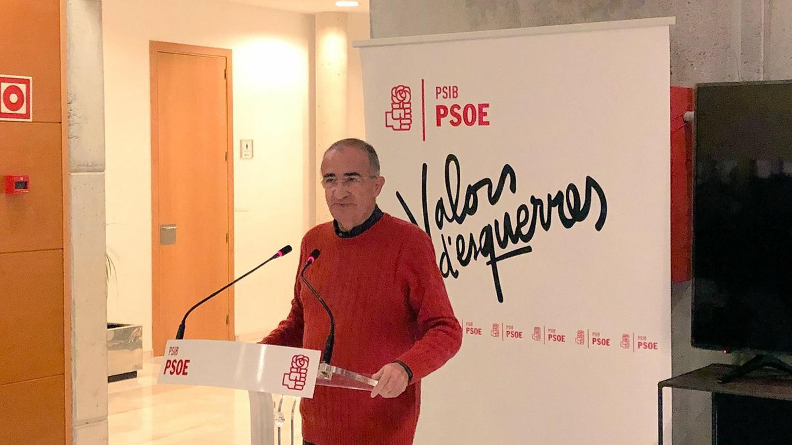 L'exbatle socialista d'Alcúdia, Antoni Alemany, que va morir el passat divendres