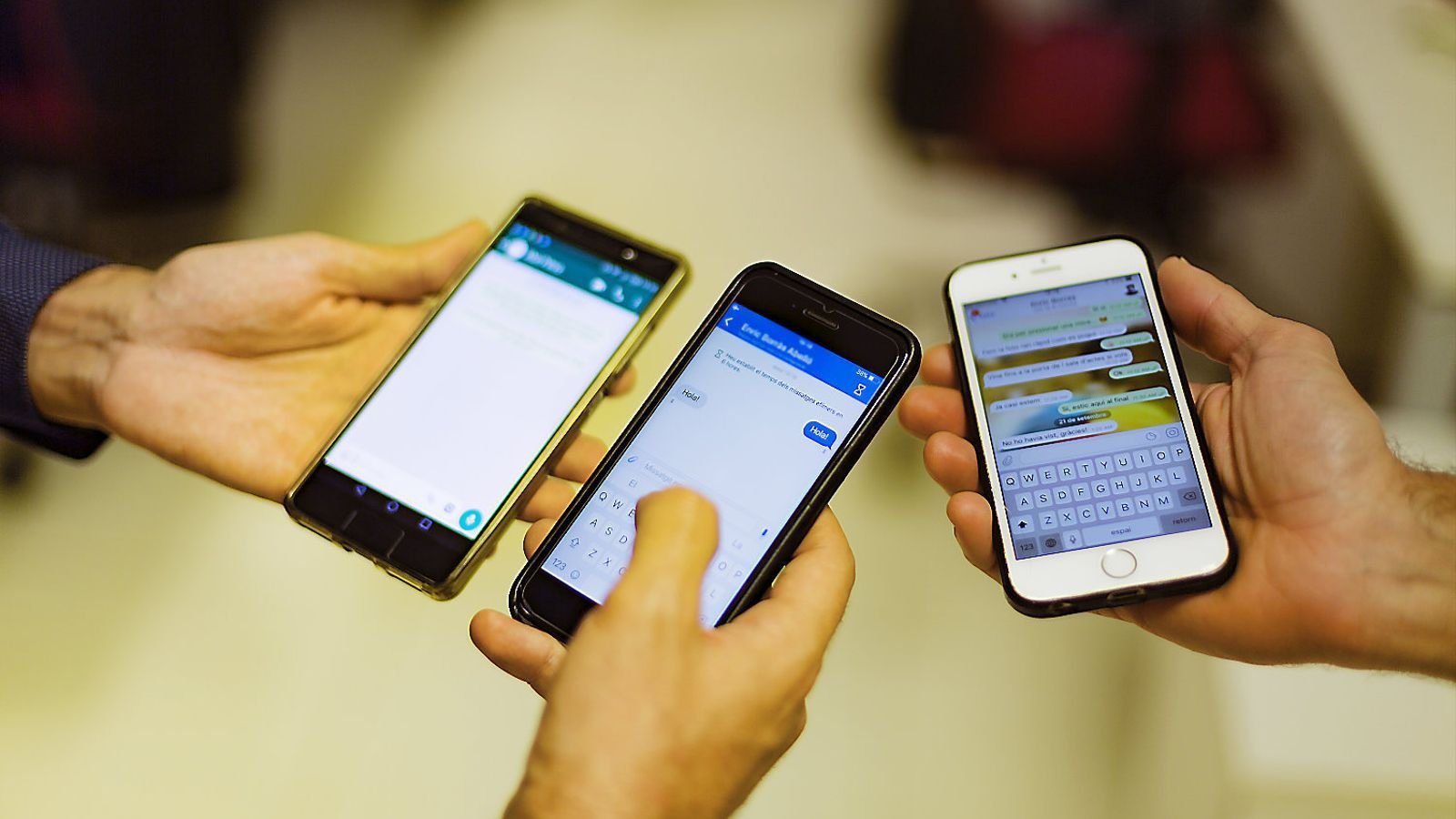 La Guàrdia Civil no aconsegueix accedir als missatges d'un telèfon enviats amb Signal.