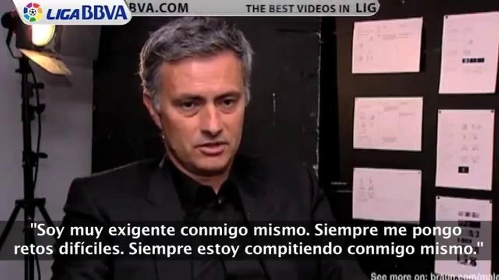 Mourinho: Sóc molt exigent amb mi mateix