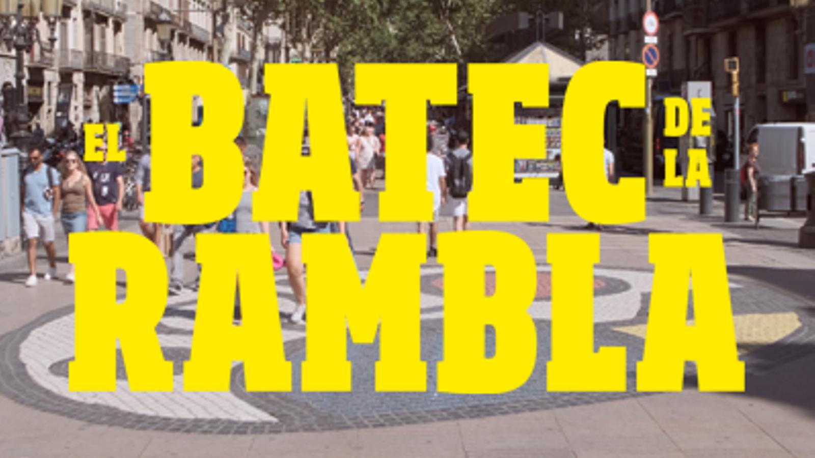 Interactiu especial 'El batec de la Rambla', dos anys després del 17-A