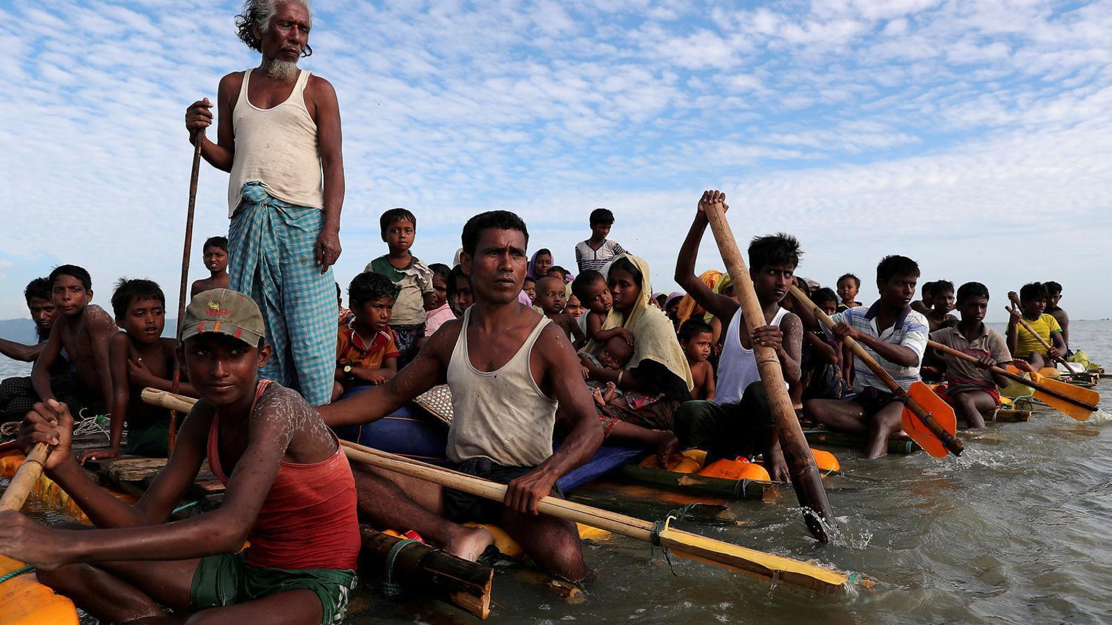 Birmània i Bangladesh pacten un pla per repatriar els rohingyes