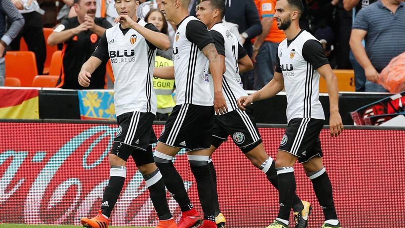 El València ha superat el Leganés