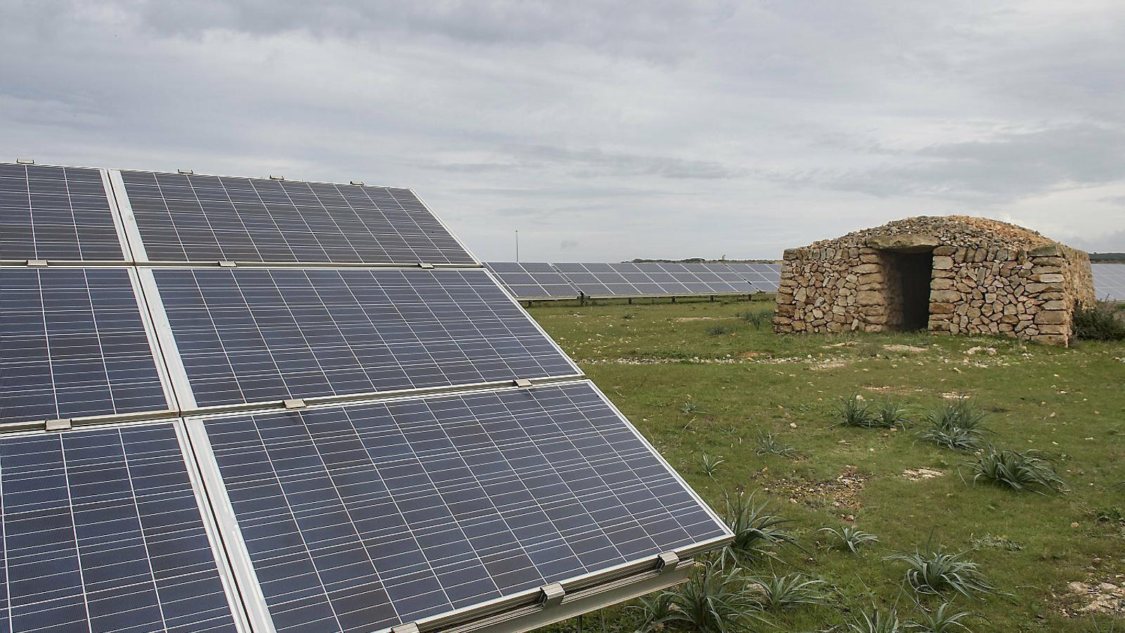 Balears aconseguirà produir un 10% d'energia renovable amb els 26 parcs fotovoltaics programats