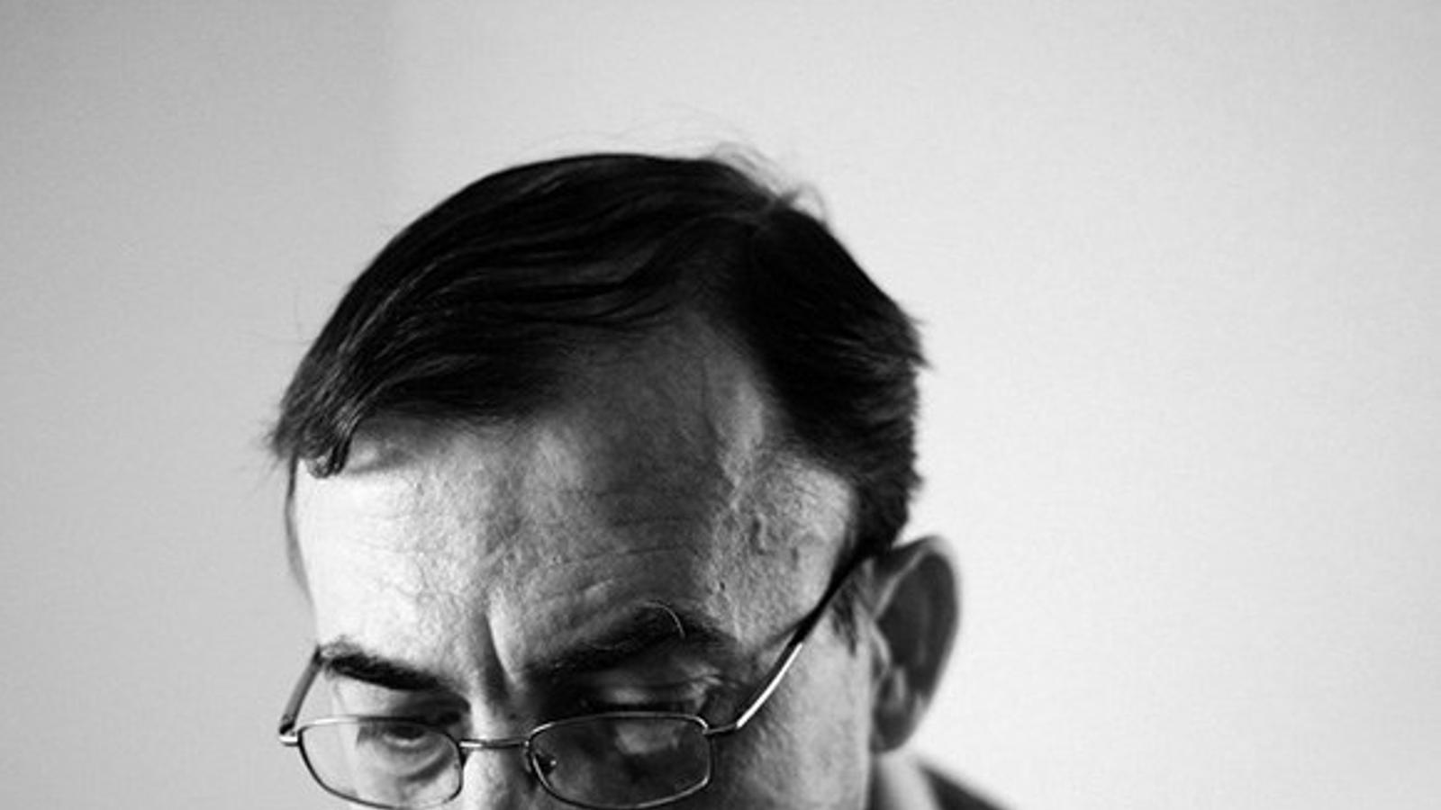 L'escriptor i professor Maurici Pla