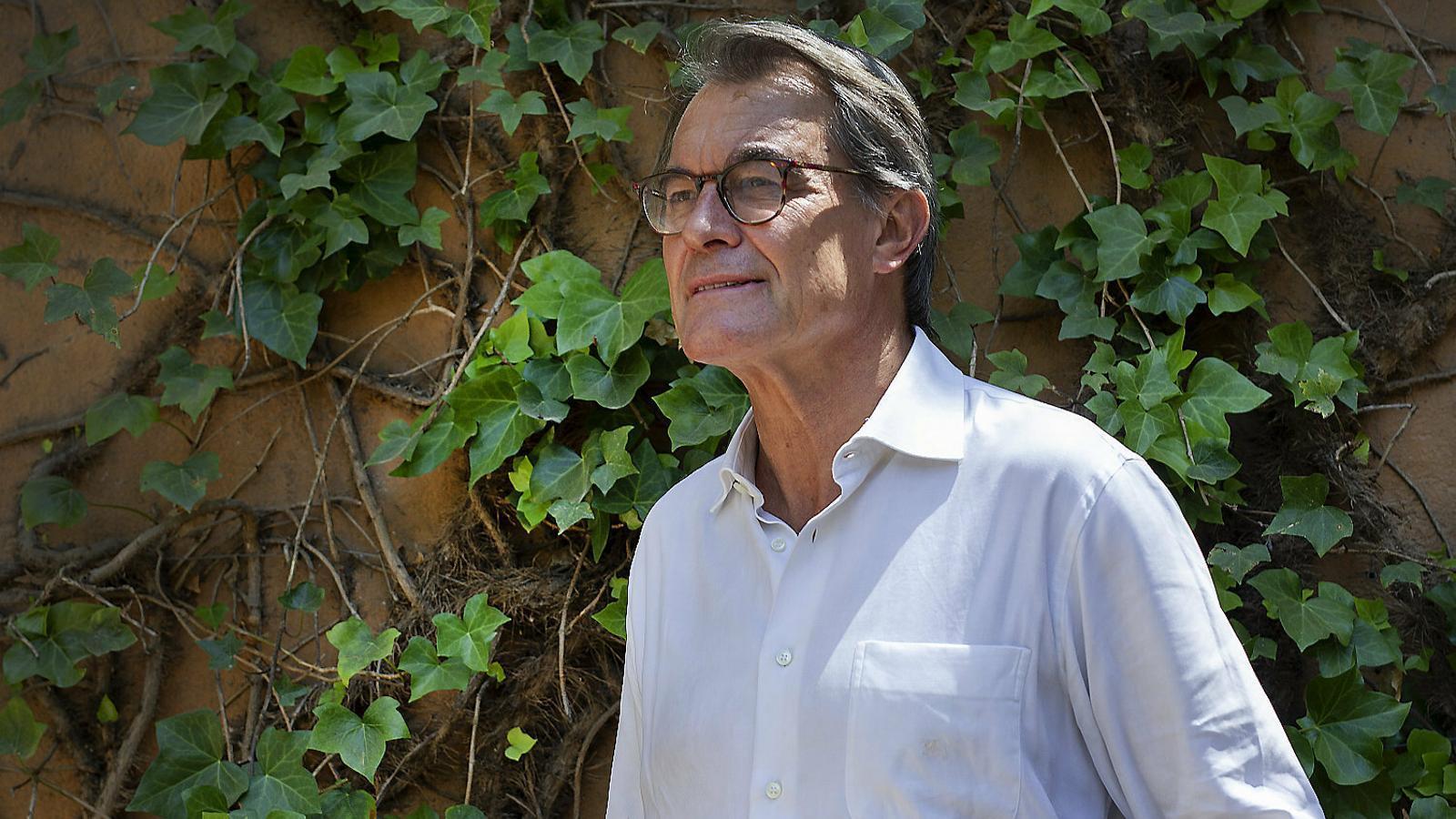 """Artur Mas: """"La reacció a la sentència no ha de ser la solució fàcil de convocar eleccions"""""""