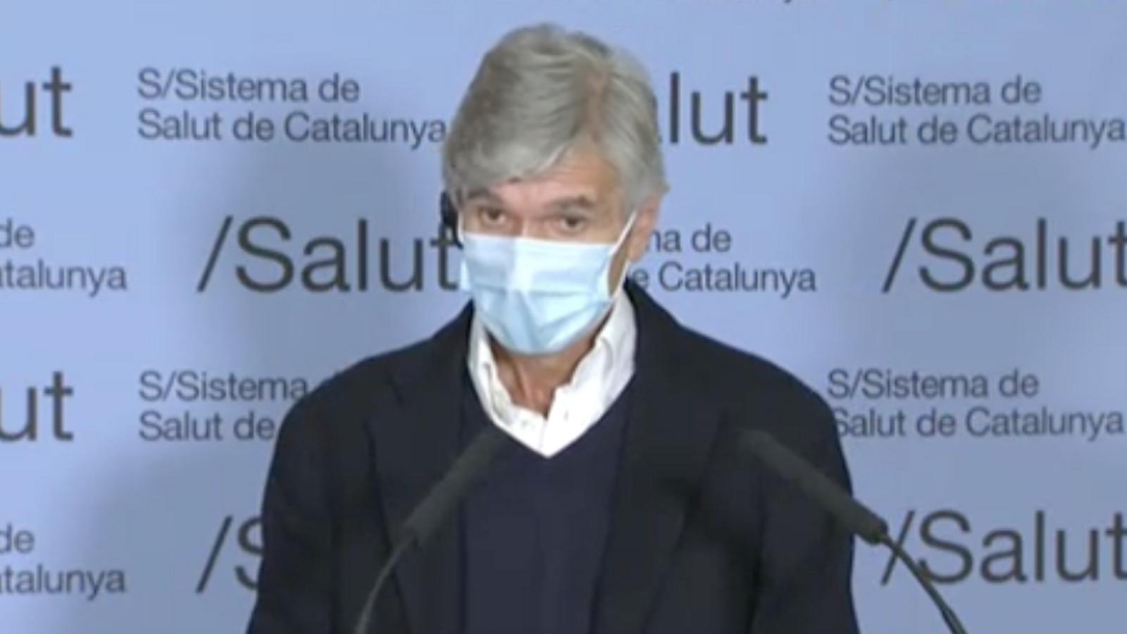 """Josep Maria Argimon: """"El dia 23 s'obriran totes les activitats a l'aire lliure siguin quins siguin els nostres indicadors"""""""