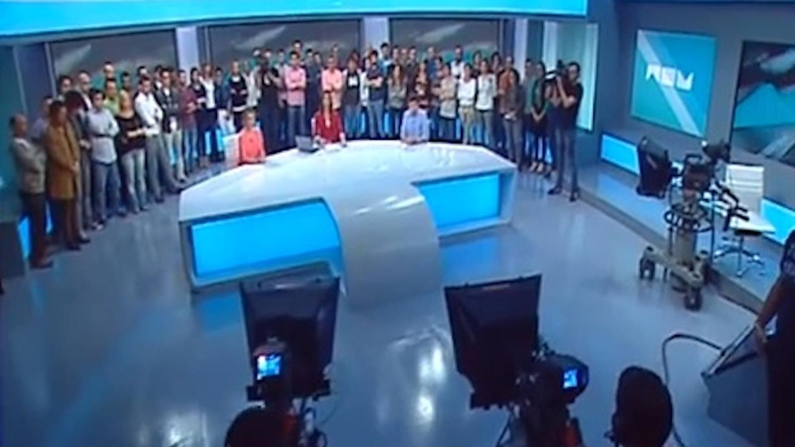Els treballadors es neguen a posar fi a les emissions de Radiotelevisió Valenciana